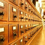 Old Fashioned Card Catalog